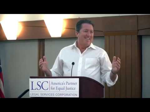 Legal Services Corporation BOD Meeting Keynote Speaker Kevin Hancock