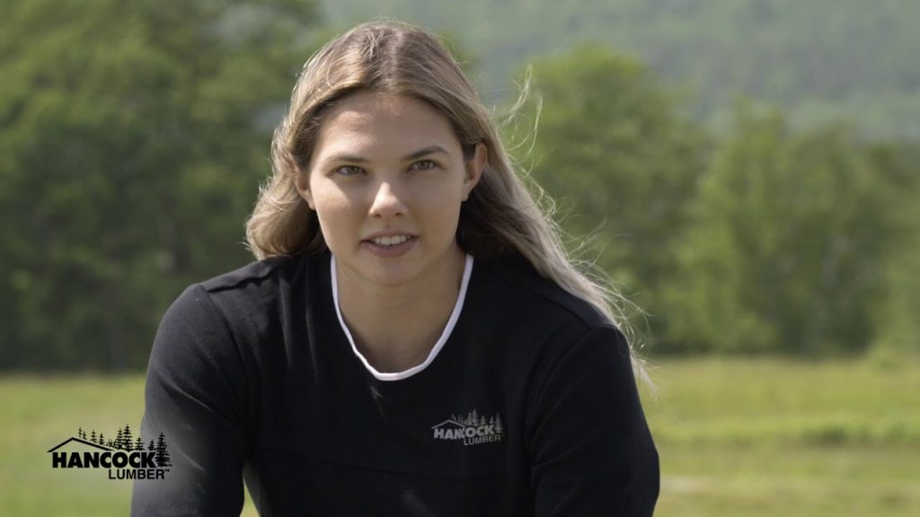 """Whenever I think of being from Casco, it's always very special in my heart. I always feel very connected to it no matter where I am. Hancock Lumber sponsoring me as I strive toward my Olympic goals means so much to me and is such a reflection of the power of our close-knit community."""""""